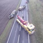 Convoy militar de EE.UU. se atasca en Polonia y tiene que pedir ayuda local (VÍDEO)