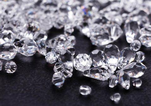 Diamantes en el centro de la Tierra