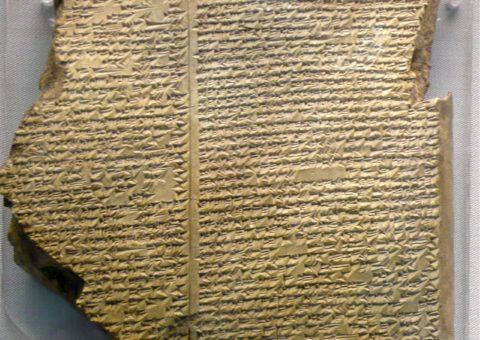 Fake news en el relato babilónico del Diluvio