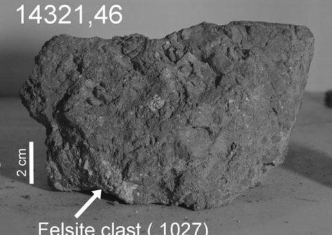 Una roca hallada en la luna llegó de la Tierra