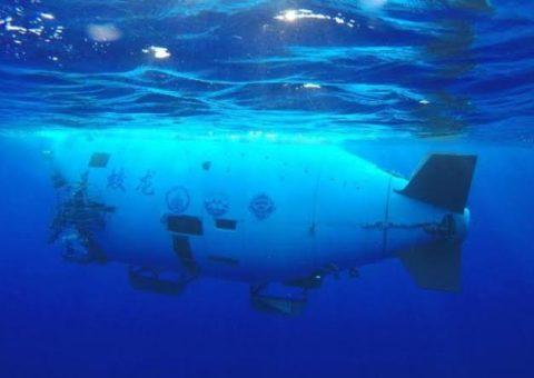 Un sumergible para llegar al fondo del mar