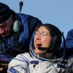 El vuelo espacial femenino más largo terminó